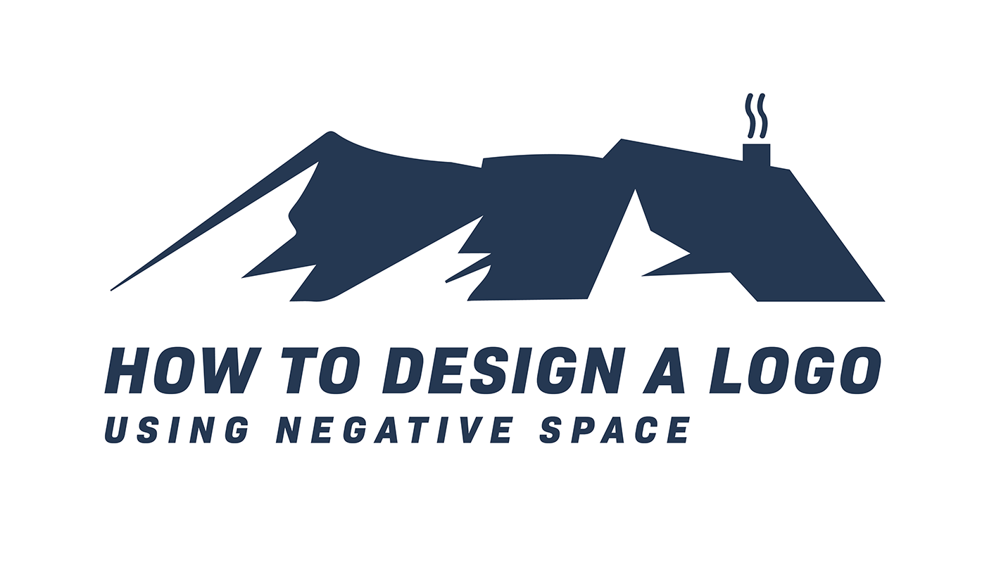Design a logo using Negative Space in Illustrator